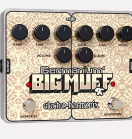 Electro-Harmonix Germanium 4 Big Muff Pi Overdrive & Distortion Battery included
