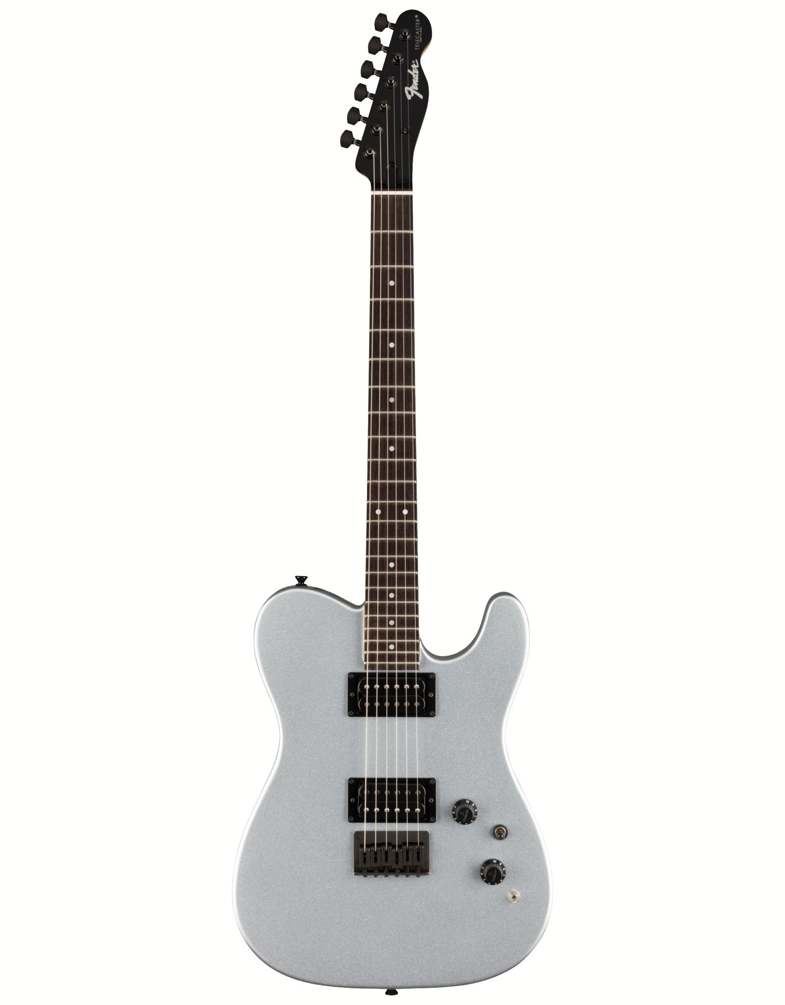 Fender Fender Boxer Series Telecaster HH, Rosewood Fingerboard, Inca Silver w/ Gig Bag