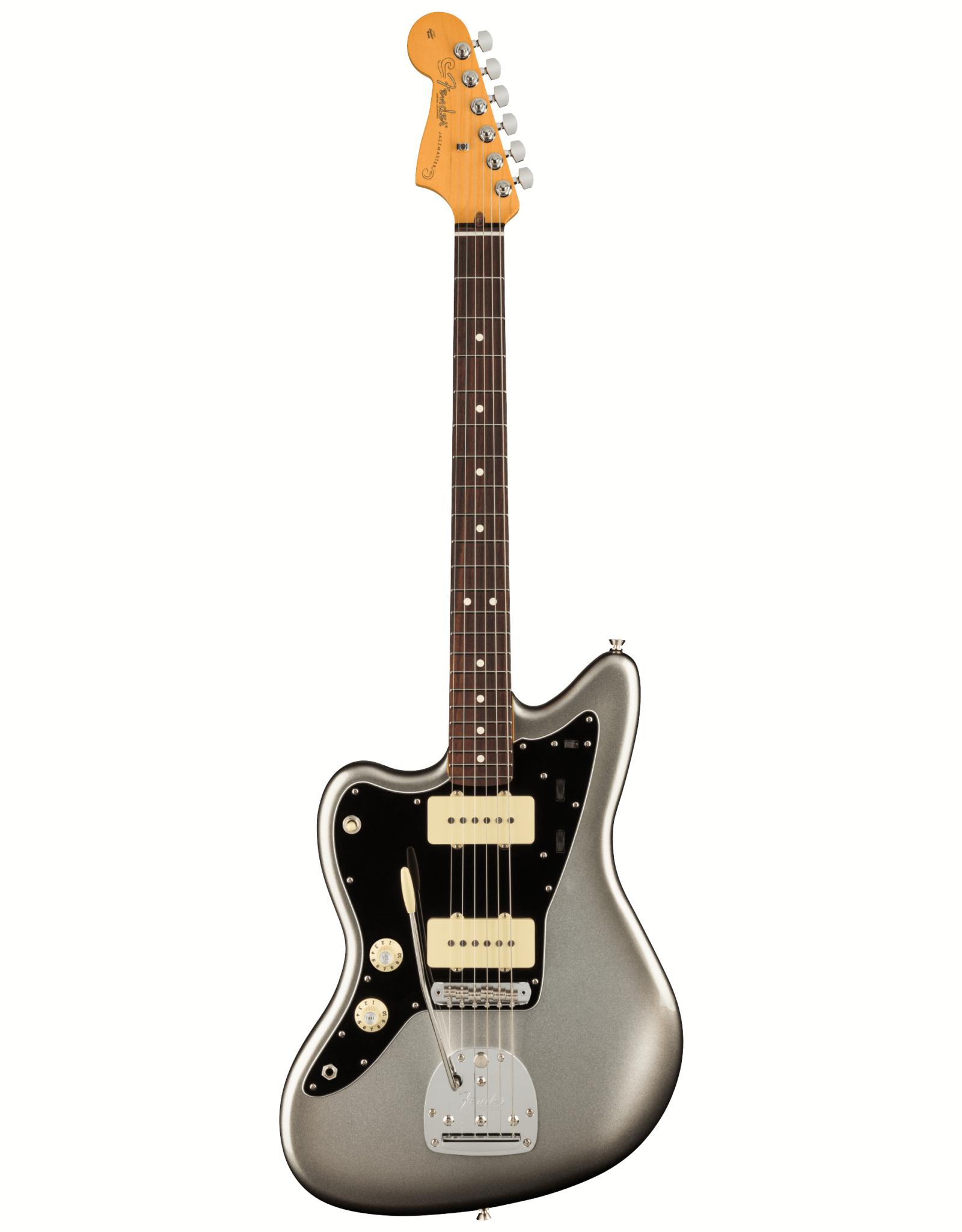 Fender Fender American Professional II Jazzmaster Left-Hand, Rosewood Fingerboard, Mercury w/ Deluxe Molded Case