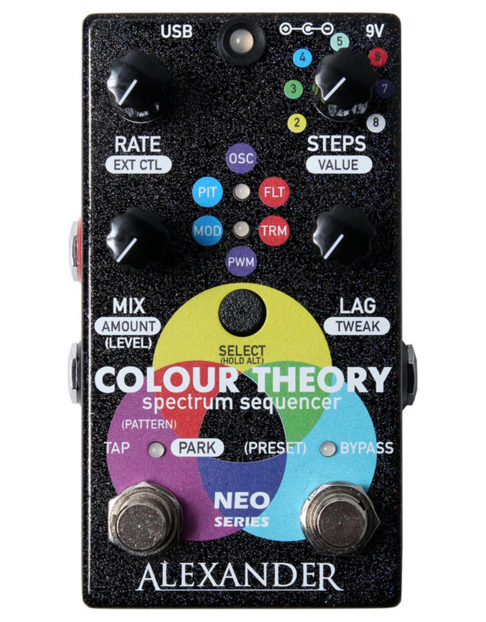 Alexander Pedals Alexander Pedals Colour Theory Spectrum Sequencer, Neo Series