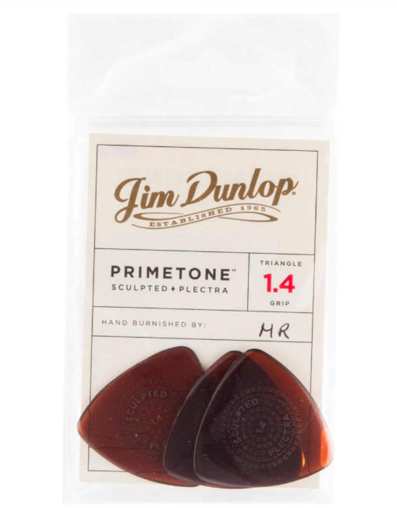 Dunlop Dunlop Primetone 1.4 Triangle Grip Pick Player Pack (3 Picks)