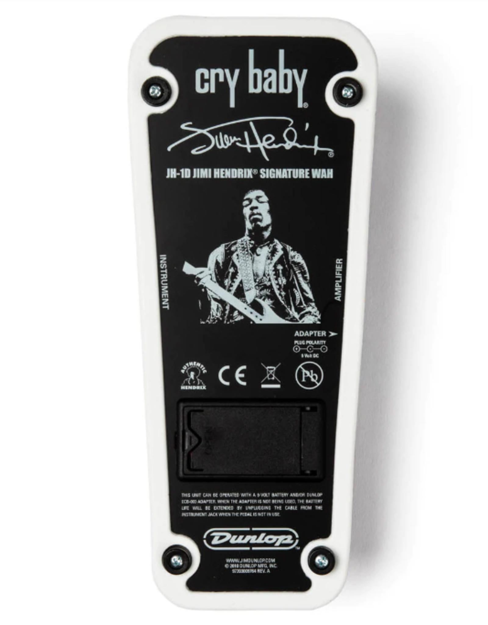 CRYBABY Dunlop Jimi Hendrix CryBaby Wah