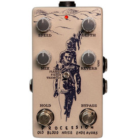Old Blood Noise Endeavors OBNE Procession Sci Fi Reverb Pedal