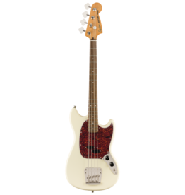 Squier Squier Classic Vibe '60s Mustang Bass, Laurel Fingerboard, Olympic White