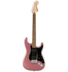 Squier Squier Affinity Series Stratocaster HH, Laurel Fingerboard, Black Pickguard, Burgundy Mist