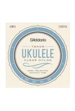 D'Addario D'Addario EJ65TLG Pro-Arté Custom Extruded Nylon Ukulele Strings, Tenor Low-G