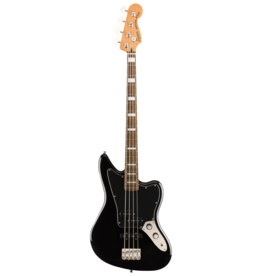 Squier Squier Classic Vibe Jaguar Bass, Black, Laurel FB