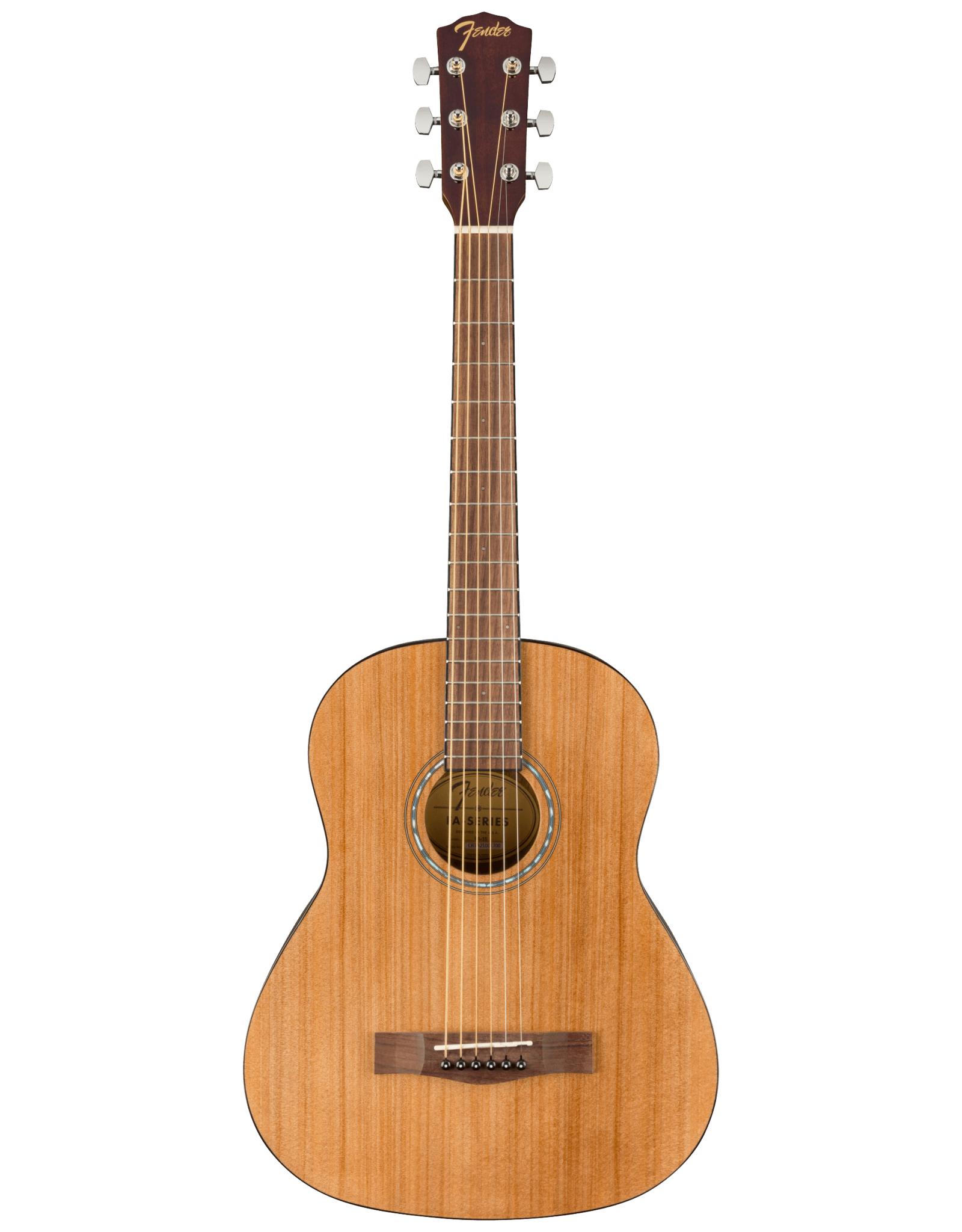 Fender Fender  FA-15 3/4 Steel String Acoustic, Natural w/Gig Bag