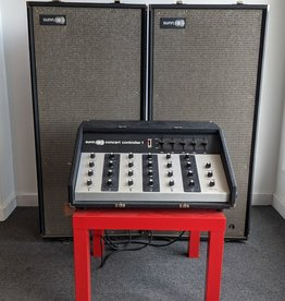 Sunn 70's Sunn Concert Controller Mixer with 410SR Speaker Cabinets and Original Paperwork, Used.  LOCAL PICK UP ONLY.  WILL NOT SHIP.