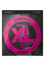 D'Addario D'Addario ECB81s 45-100 Light, Short Scale, XL Chromes