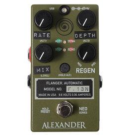 Alexander Pedals Alexander Pedals F-13 Flanger, Neo Series