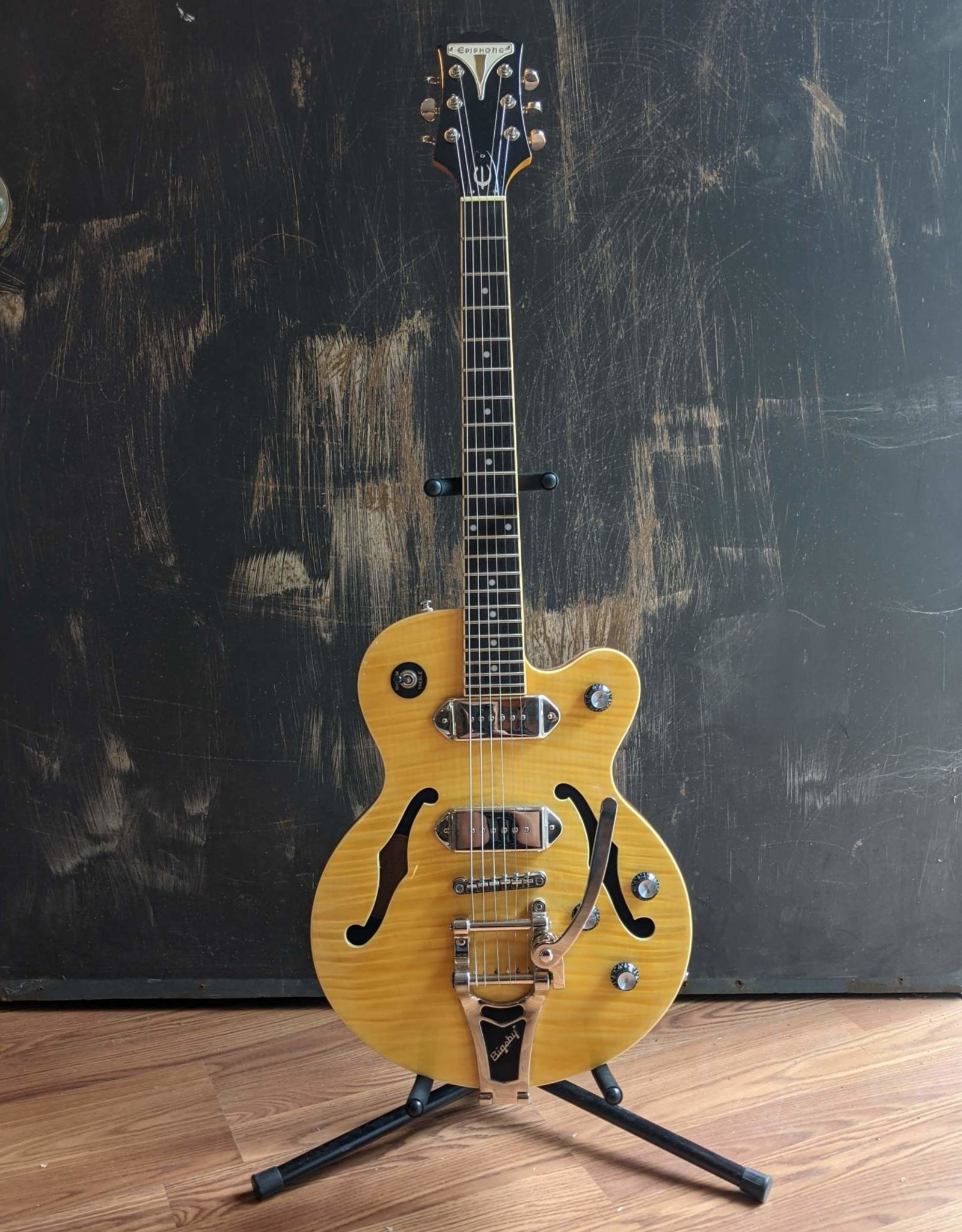 Epiphone Epiphone Wildkat, Antique Natural, Used w/ OHSC