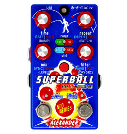 Alexander Pedals Alexander Superball Kinetic Modulator