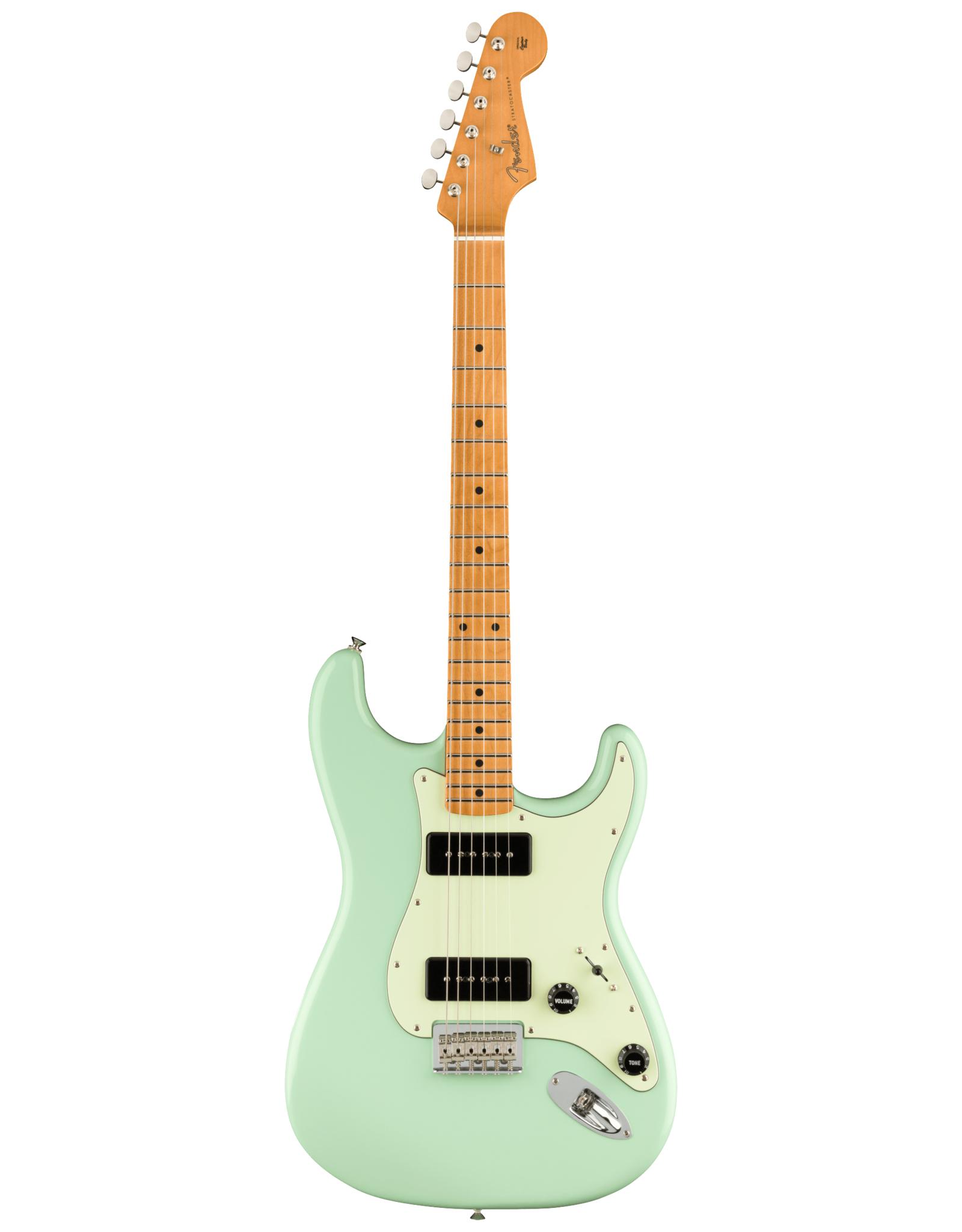 Fender Fender Noventa Stratocaster, Surf Green w/deluxe gig bag