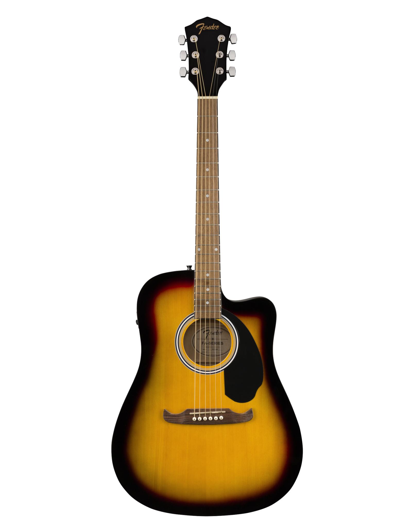 Fender Fender  FA-125CE Dreadnought, Sunburst