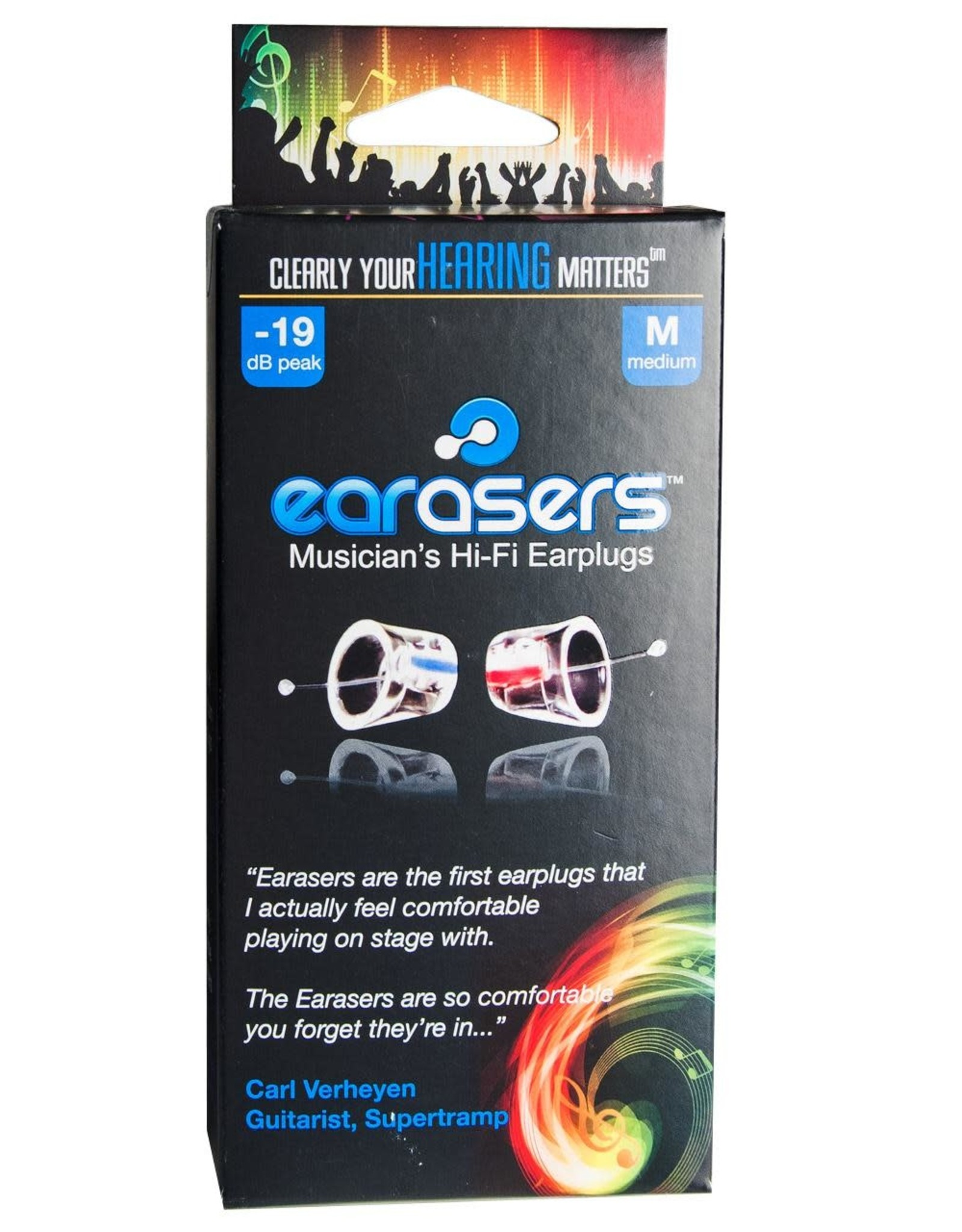 Earasers Earasers Musicians Earplugs, Small