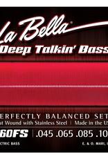 La Bella La Bella Deep Talkin? Bass Strings, Flat Wound