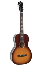 Recording King Recording King Dirty 30's Series 7 Acoustic Guitar, Single 0 Parlor - Tobacco Sunburst with Fishman Sonitone Pickup