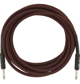 Fender Fender Professional Series Instrument Cable, 15', Red Tweed