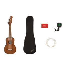 Fender Fender Seaside Soprano Ukulele Pack, Natural