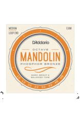D'Addario D'Addario EJ80 Phosphor Bronze Octave Mandolin Strings, Medium, 12-46