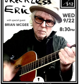 Twin House Music Wreckless Eric, 9.22.21, Admit One, Brian McGee opens