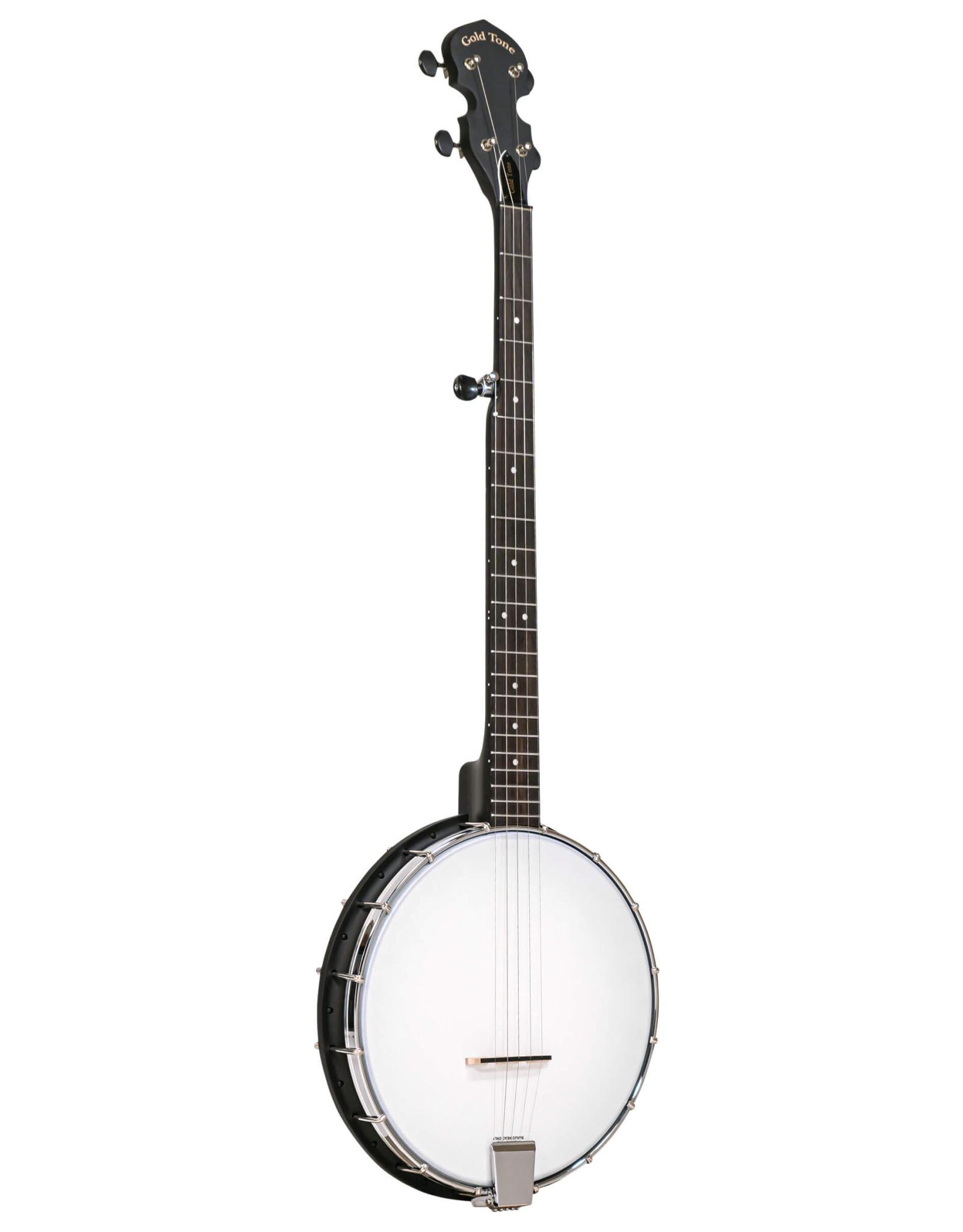 Gold Tone Gold Tone AC-1: Acoustic Composite 5-String Open back Banjo w/Gig Bag