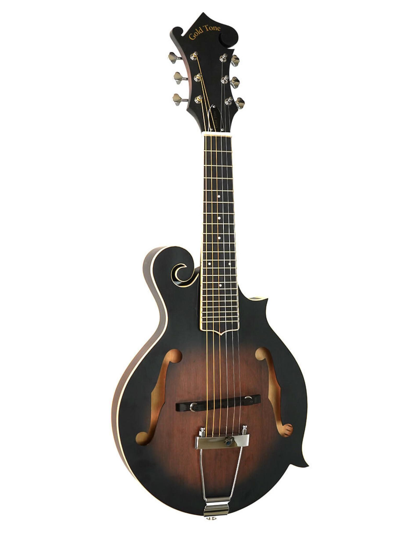Gold Tone Gold Tone F-6: F-style Mando-Guitar w/Pickup & Case