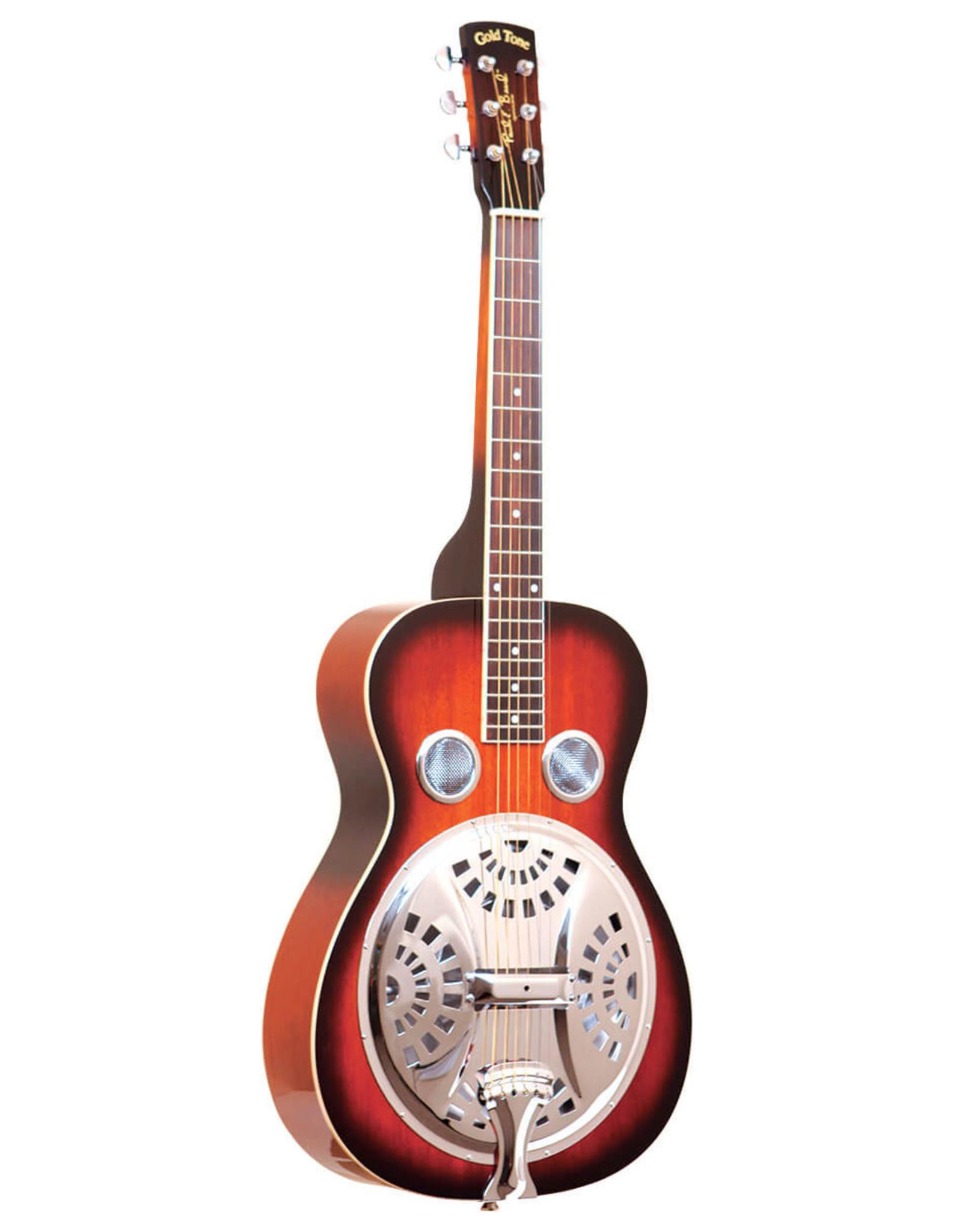Gold Tone Gold Tone PBS: Paul Beard Signature-Series Squareneck Resonator Guitar w/Case