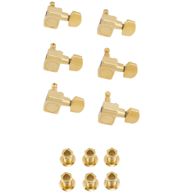 Fender Fender American Pro Staggered Strat/Tele Tuning Machines, Gold