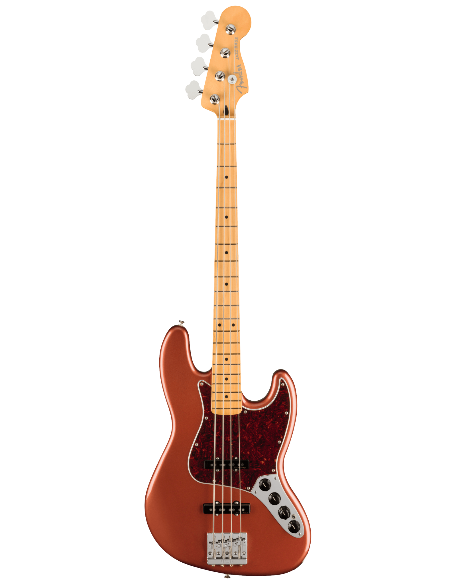 Fender Fender Player Plus Jazz Bass, Maple Fingerboard, Aged Candy Apple Red, w/ Gig Bag