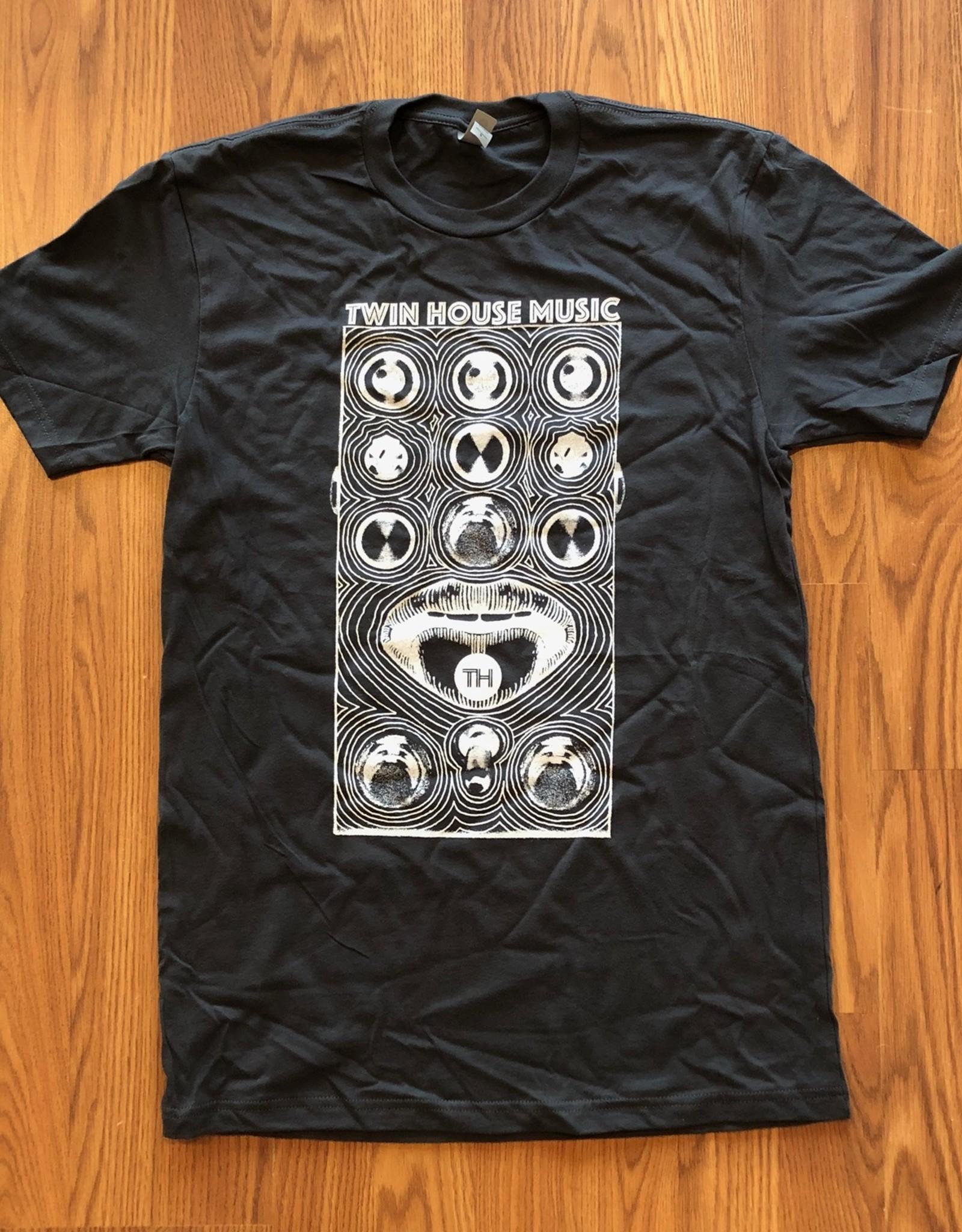 Bella Canvas Twin House Music Pedal T-shirt