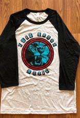 Twin House Music Twin House Music Lion Baseball t-shirt