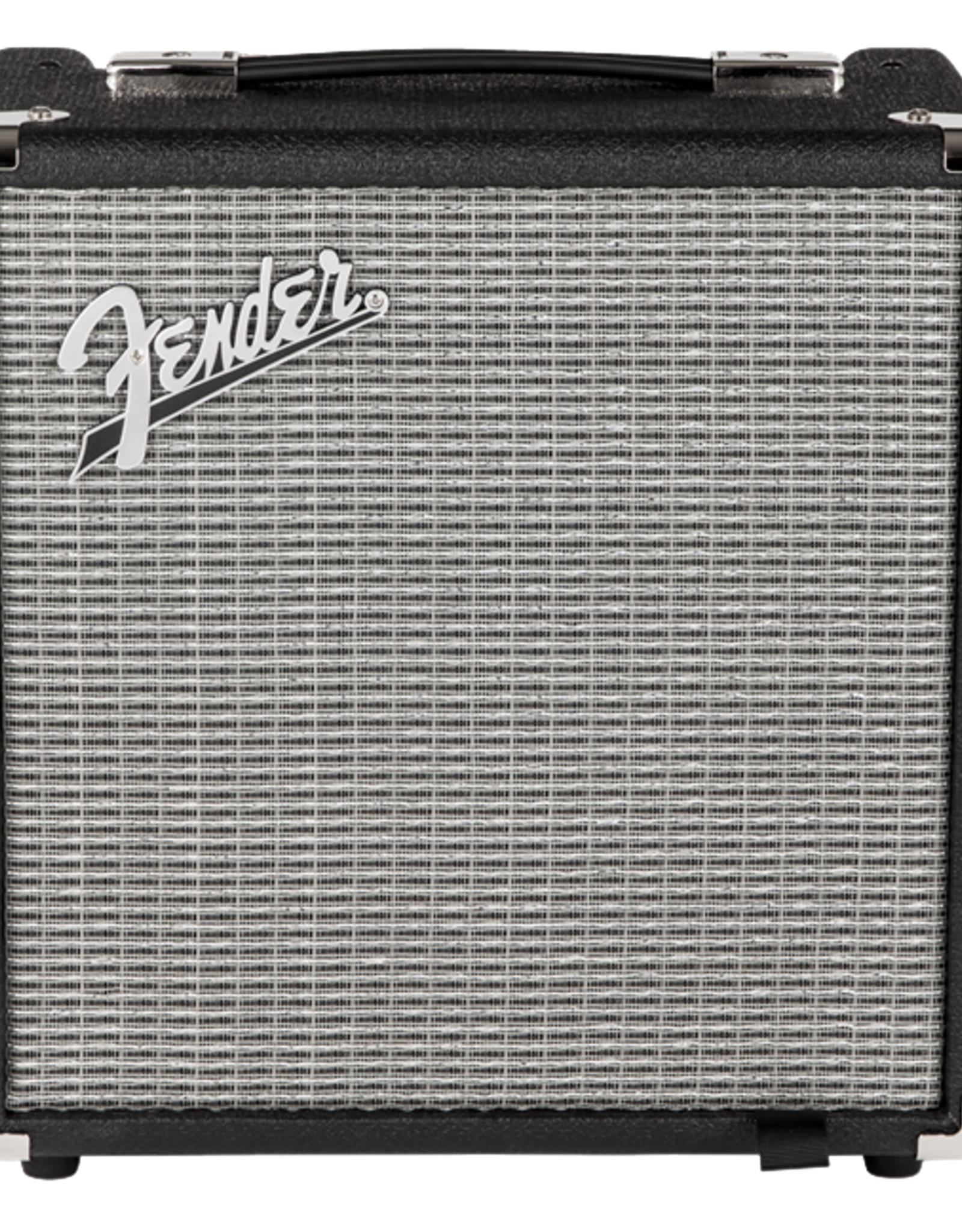 Fender Fender Rumble 15 (V3), 120V, Black/Silver