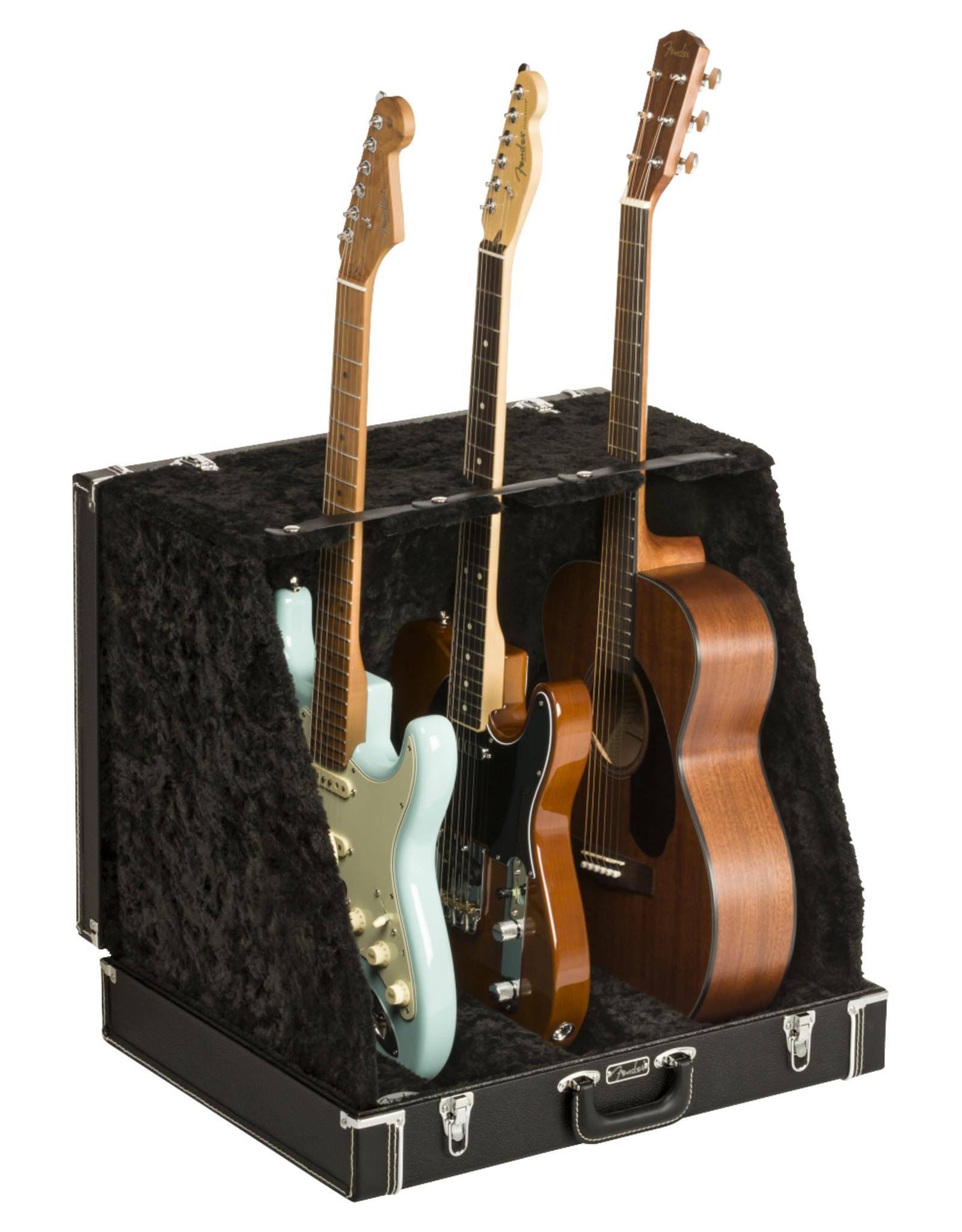 Fender Fender Classic Series Case Stand, Black, 3 Guitar