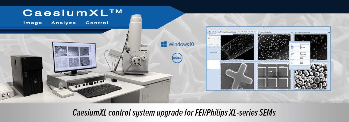 Get the CaesiumXL upgrade for FEI/Philips XL-series SEMs