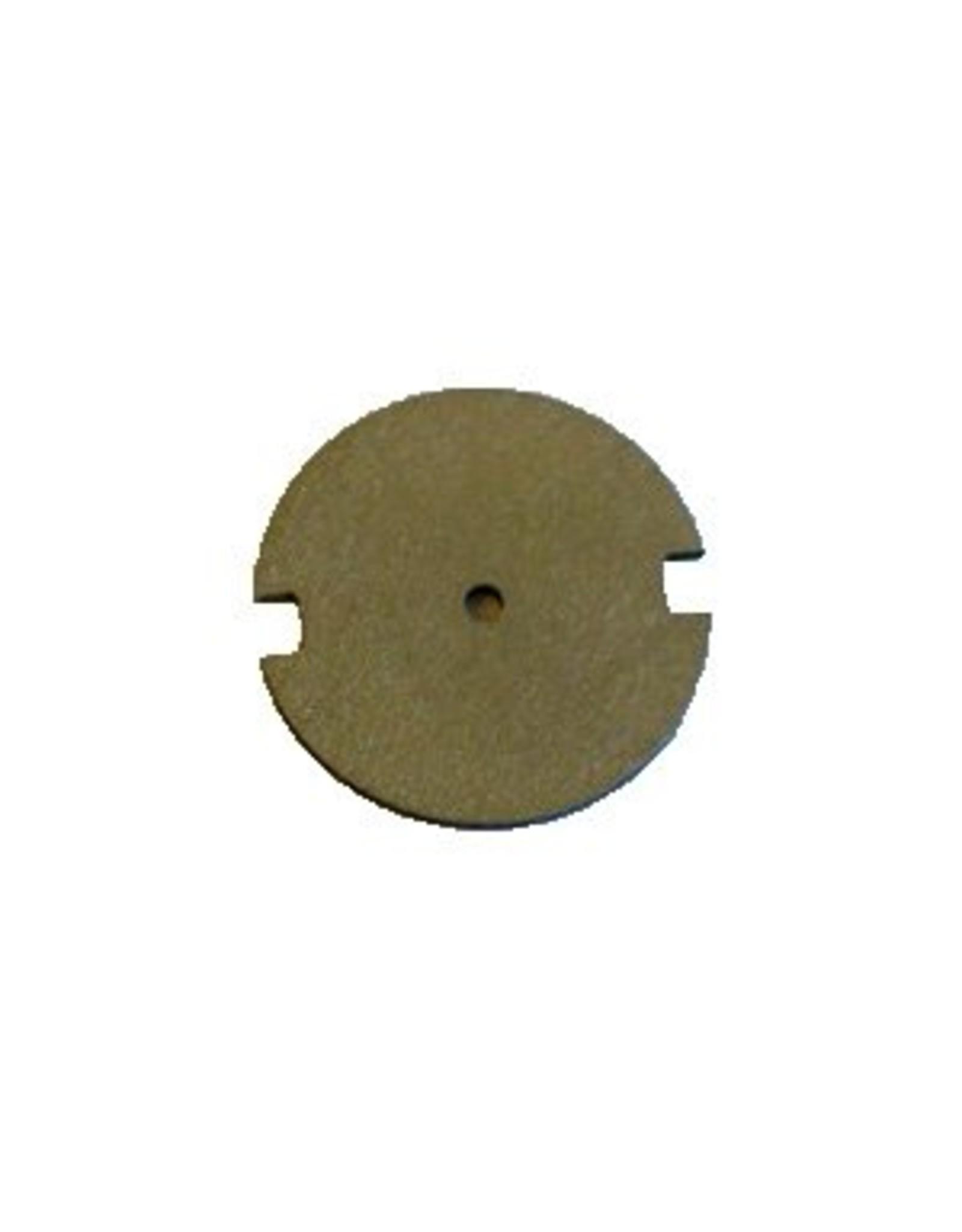 Tungsten sputter shield for FEI FIB columns
