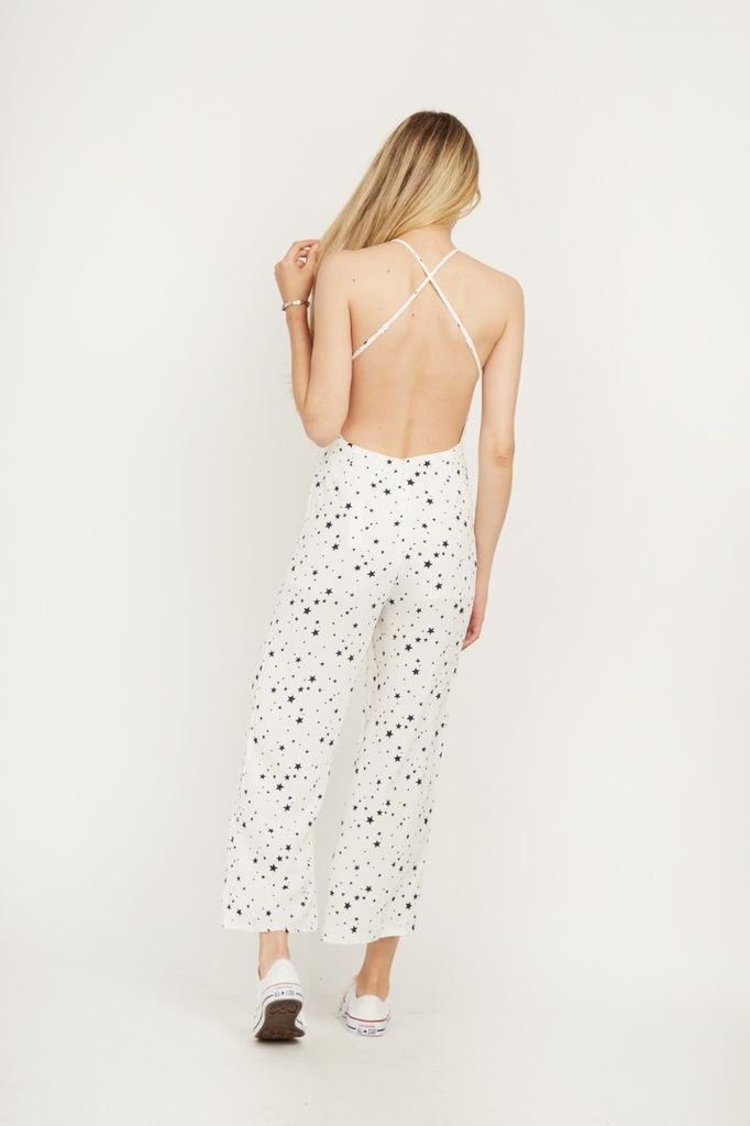 Jumpsuits Star Crossed Back Jumpsuit