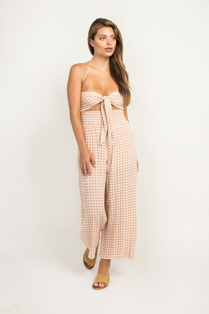 Jumpsuits Gingham Jumpsuit