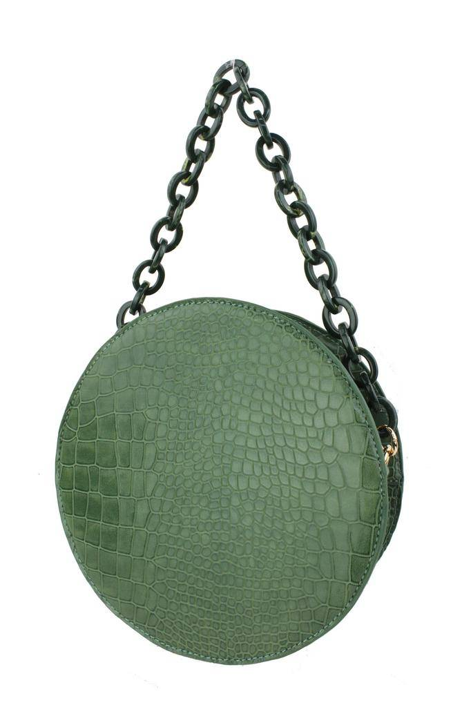 Handbags Embossed Croco Tote