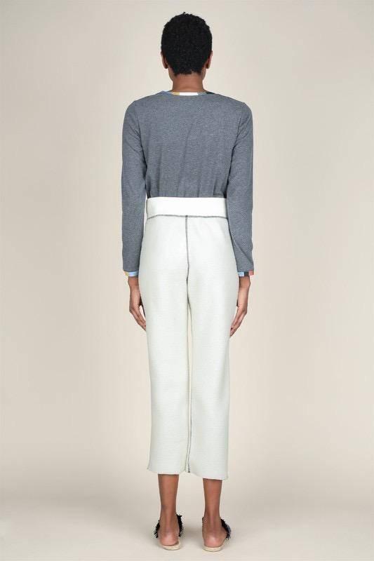 Bottoms Lace Up Fleece Pants
