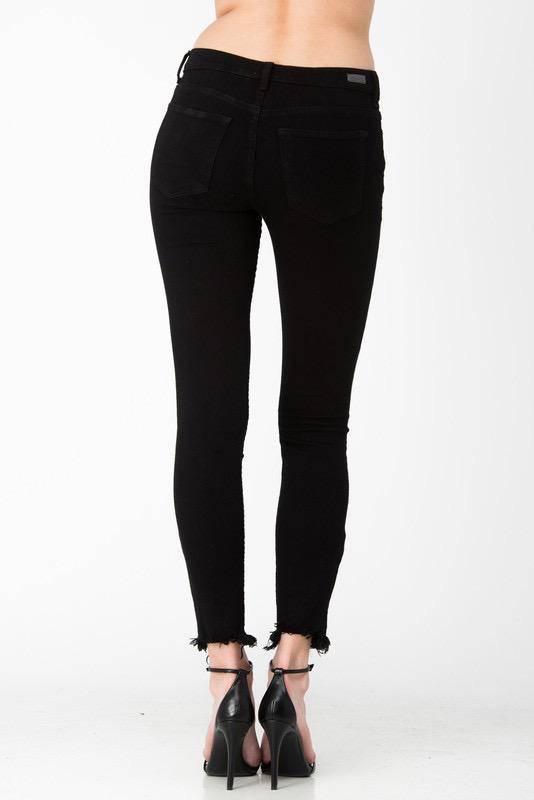 Jeans Slightly Distressed Skinny Jeans