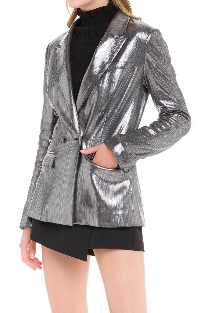 jackets Esma Metallic Blazer