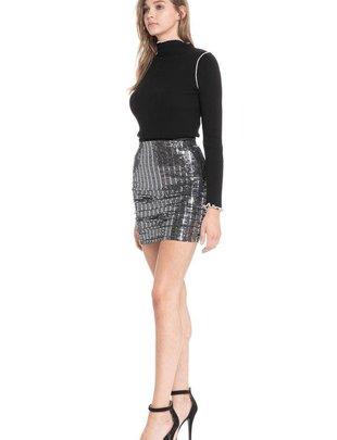 Skirt Nina Sparkling Ruched Skirt