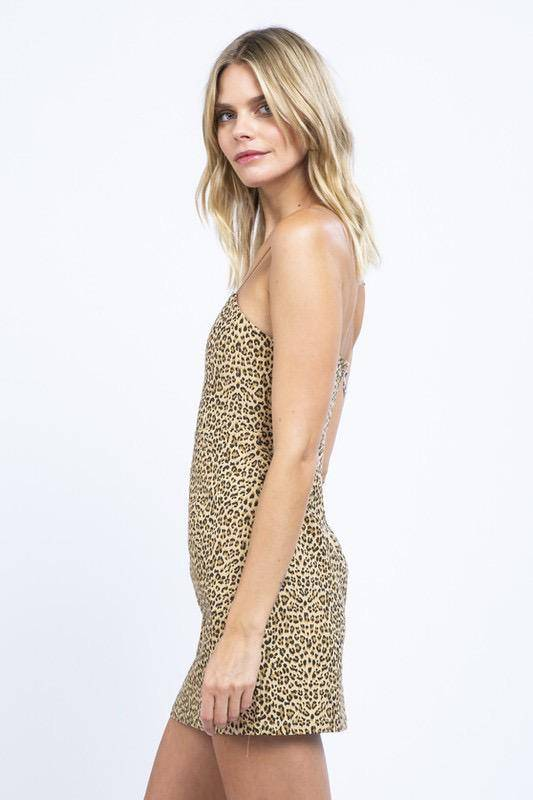dresses Vivienne Leopard Mini Dress