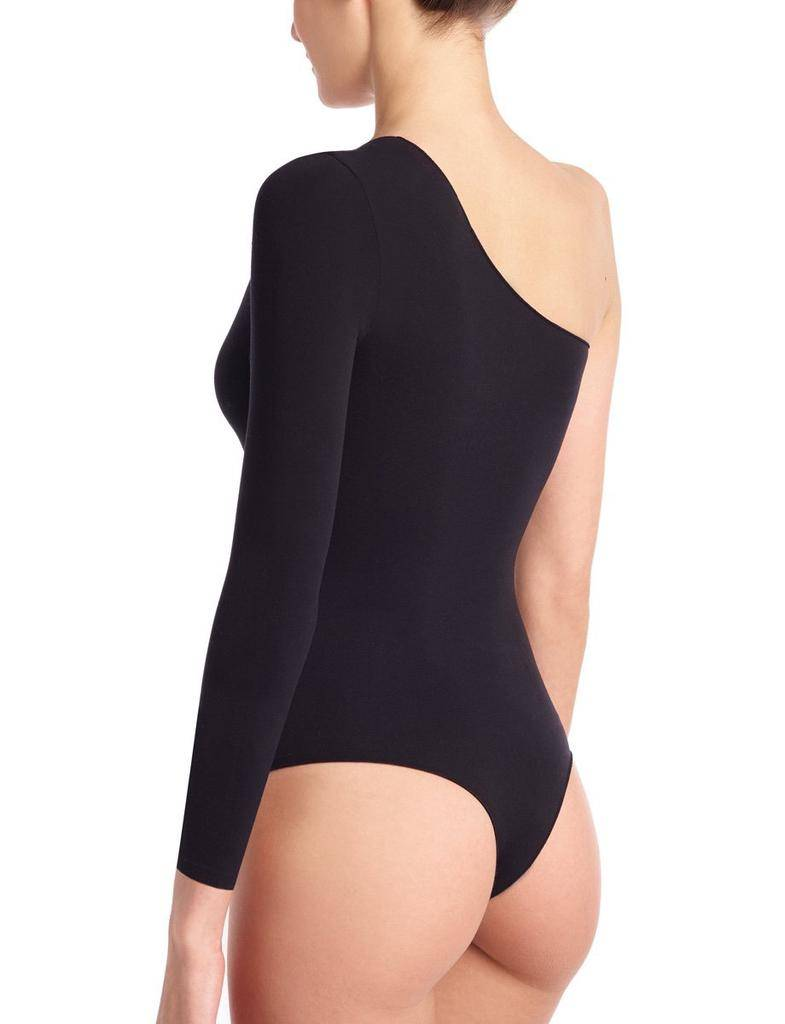 tops Ballet One Shoulder Bodysuit