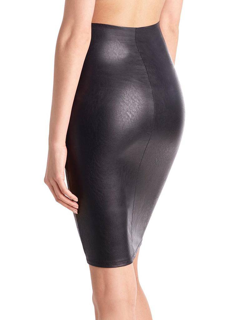 Skirt Faux Leather Perfect Pencil Skirt