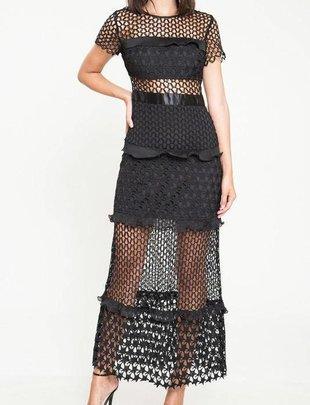 dresses Nettie Lace Maxi Dress