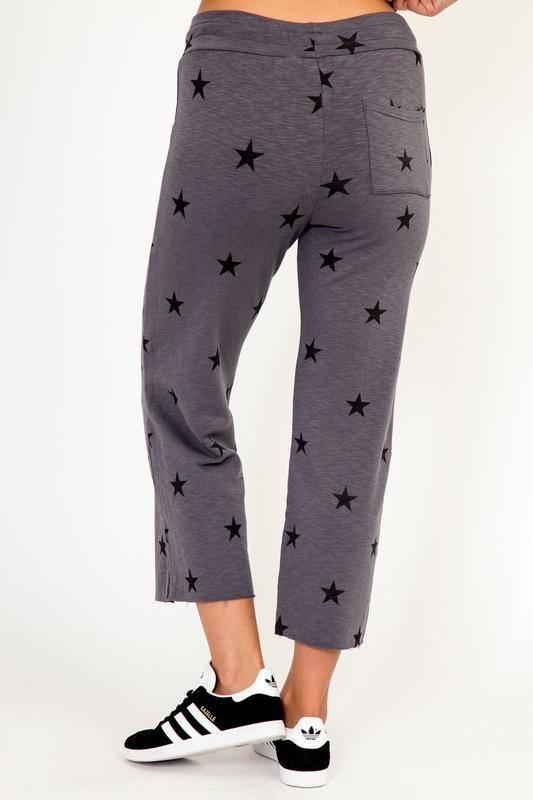 Bottoms Star Drawstring Pants