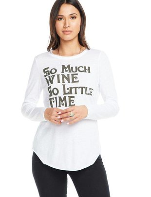 Shirt So Much Wine So Little Time T-Shirt
